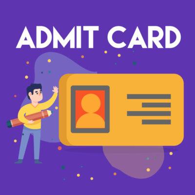 FMGE Admit Card