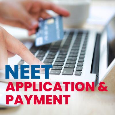NEET-UG Application and Payment