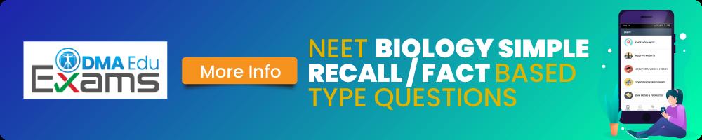 Neet Biology Simple and recall wise Web app Ad NEET-UG Merit List and NEET Qualifying Criteria NEET, NEET Merit List, NEET-UG