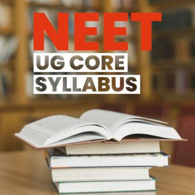 NEET 2021 Syllabus
