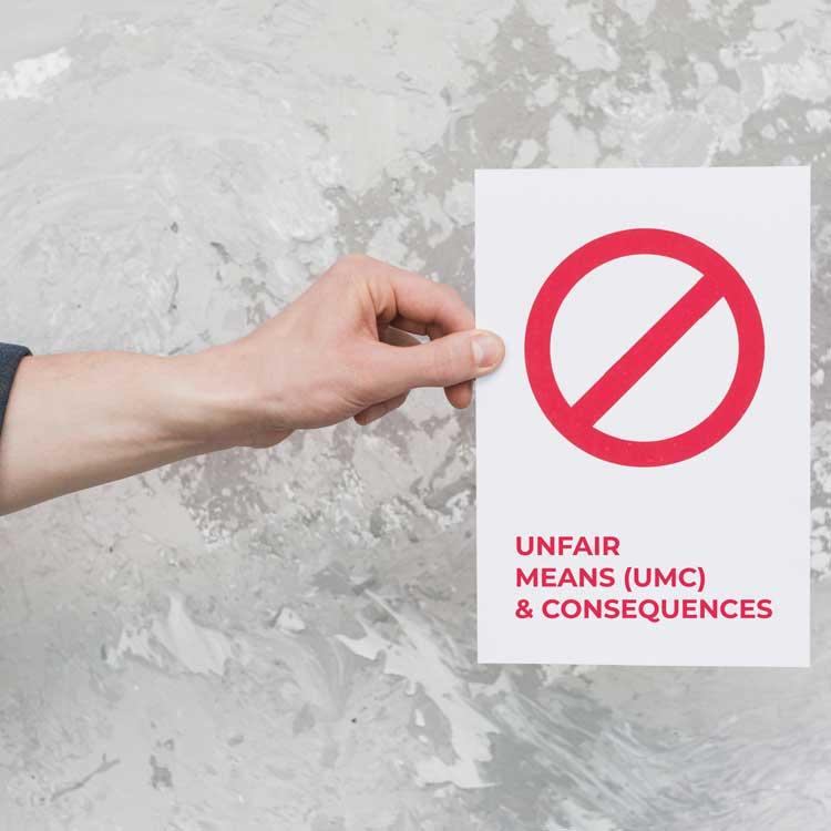 Unfair Means in FMGE
