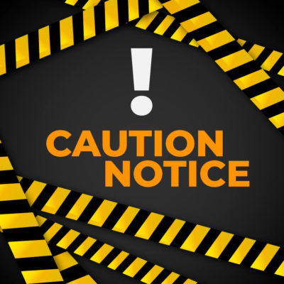 Caution Notice for FMGE