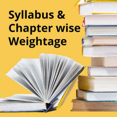 NEET-UG 2021 Preparation - Syllabus & Chapter wise Weightage
