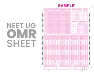 neet omr sheet How to approach the NEET-UG exam? NEET, NEET 2020, NEET 2020 Preparation