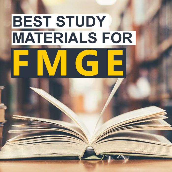 The Best FMGE study materials
