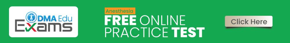 Anesthisia FREE ONLINE Test
