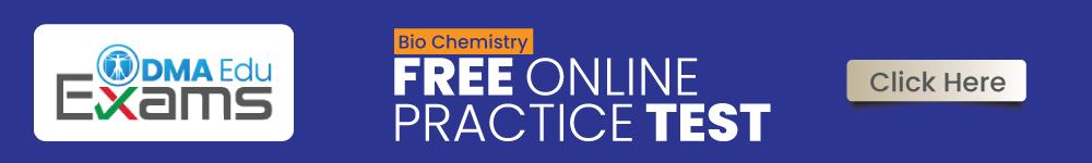 BioChemistry FREE ONLINE Test
