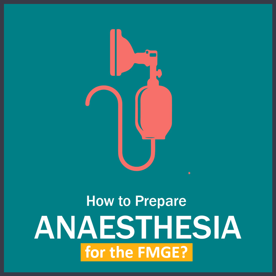 How to Prepare anaesthesia in FMGE copy LMR for FMGE August-2020: Anesthesia