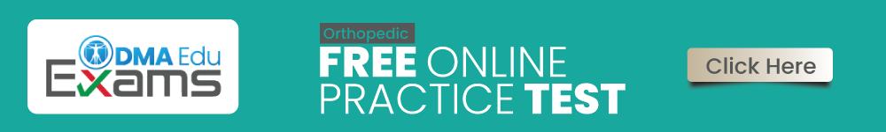 Orthopedics FREE ONLINE Test
