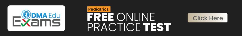 Pediatrics FREE ONLINE Test