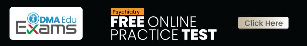 Psychiatry FREE ONLINE Test