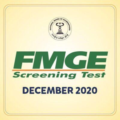 FMGE December 2020