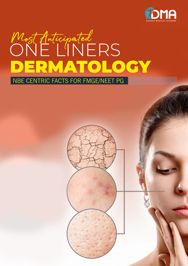 Dermatology LMR for FMGE August-2020: Psychiatry