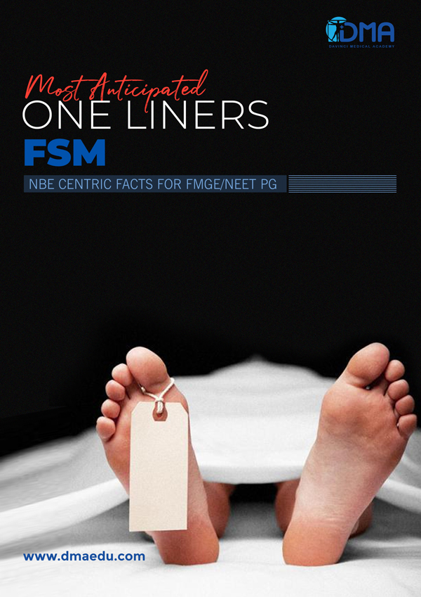 FSM LMR for FMGE August-2020: Psychiatry