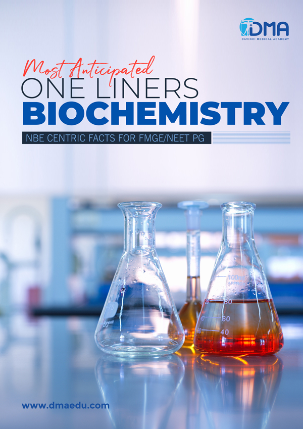 biochemistry 1 LMR for FMGE August-2020: ENT