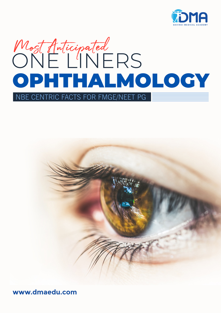 optheel LMR for FMGE August-2020: Ophthalmology