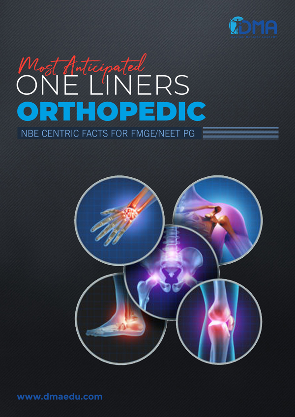 orthopedic LMR for FMGE August-2020: Orthopedics