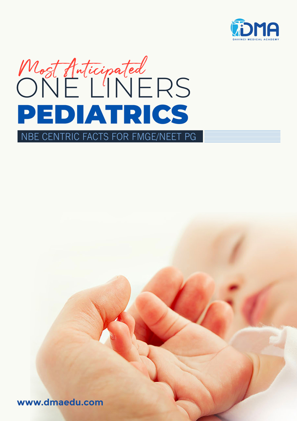pediatrics LMR for FMGE August-2020: Ophthalmology