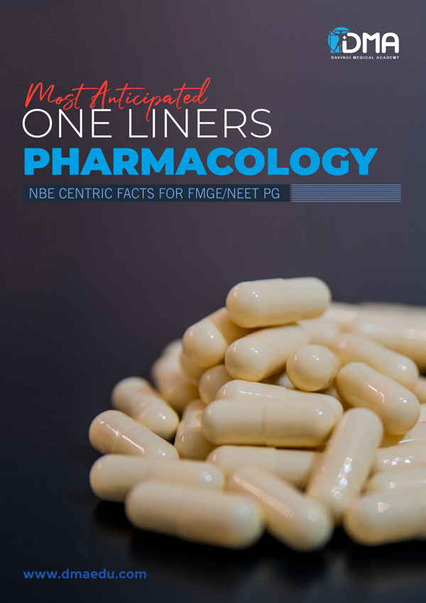 pharmacology LMR for FMGE August-2020: Physiology