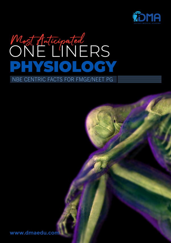 physiology LMR for FMGE August-2020: ENT