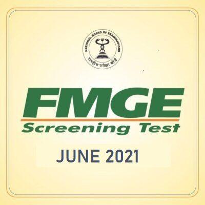 FMGE June 2021
